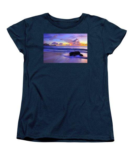 Oahu Sunrise Women's T-Shirt (Standard Cut) by Dustin  LeFevre