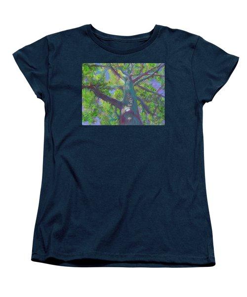 Oak Tree 1 Women's T-Shirt (Standard Cut) by Hidden  Mountain