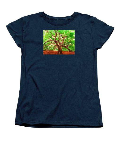Oak Tree Women's T-Shirt (Standard Cut) by Magdalena Frohnsdorff
