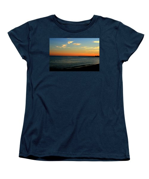 Women's T-Shirt (Standard Cut) featuring the photograph Ocean Hues No. 2 by Neal Eslinger