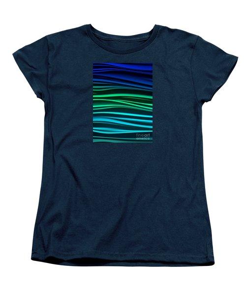 Women's T-Shirt (Standard Cut) featuring the photograph Ocean by Ranjini Kandasamy