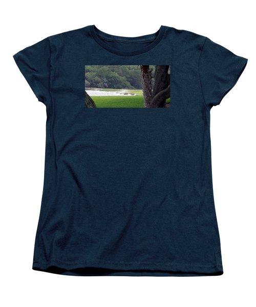 Ocean Spray At Hilton Head Island Women's T-Shirt (Standard Cut) by Kim Pate