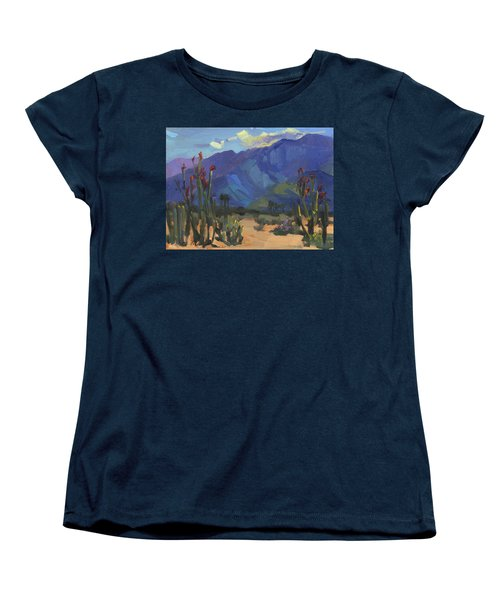 Ocotillos At Smoke Tree Ranch Women's T-Shirt (Standard Cut) by Diane McClary