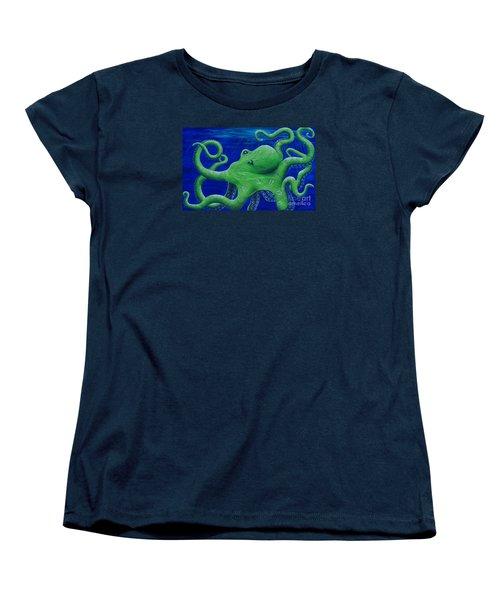 Octohawk Women's T-Shirt (Standard Cut) by Rebecca Parker