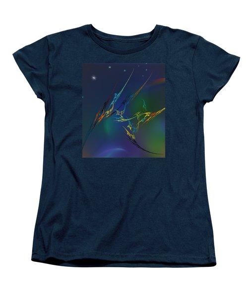 Women's T-Shirt (Standard Cut) featuring the digital art Ode To Joy by David Lane