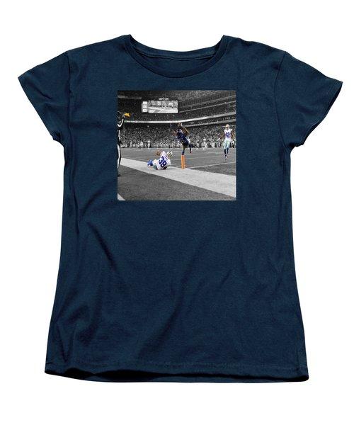 Odell Beckham Breaking The Internet Women's T-Shirt (Standard Cut) by Brian Reaves