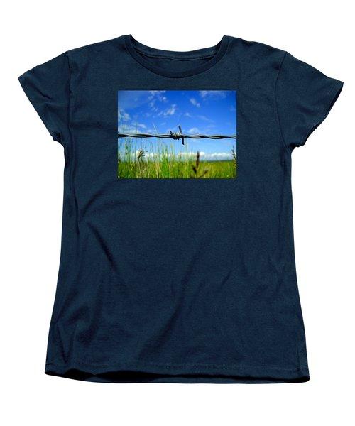 Off Limits Women's T-Shirt (Standard Cut) by Nina Ficur Feenan