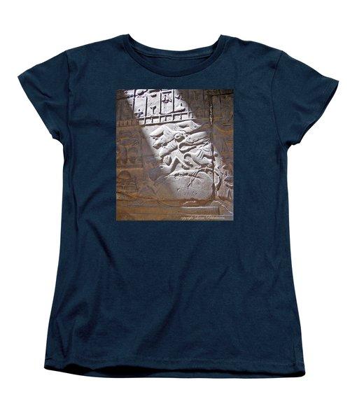 Women's T-Shirt (Standard Cut) featuring the photograph Offerings  by Leena Pekkalainen