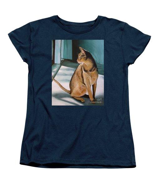 Oh Beautiful House Cat Women's T-Shirt (Standard Cut)