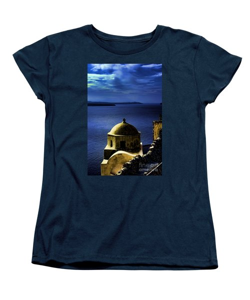 Oia Greece Women's T-Shirt (Standard Cut)