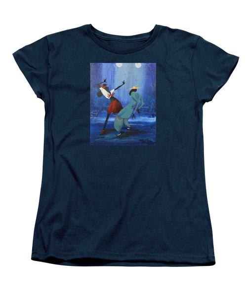 Oil Msc 017  Women's T-Shirt (Standard Cut) by Mario Sergio Calzi