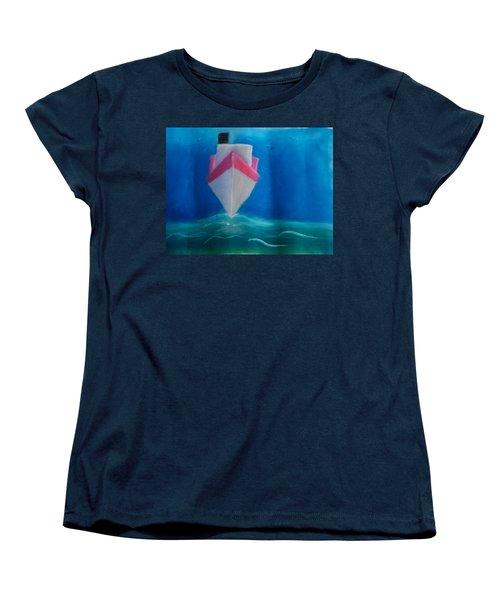Oil Tanker Women's T-Shirt (Standard Cut)