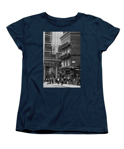 Women's T-Shirt (Standard Cut) featuring the photograph Old And New by Chevy Fleet