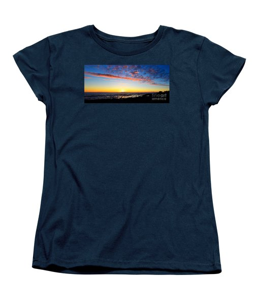 Women's T-Shirt (Standard Cut) featuring the photograph Old A's Panorama by David Lawson