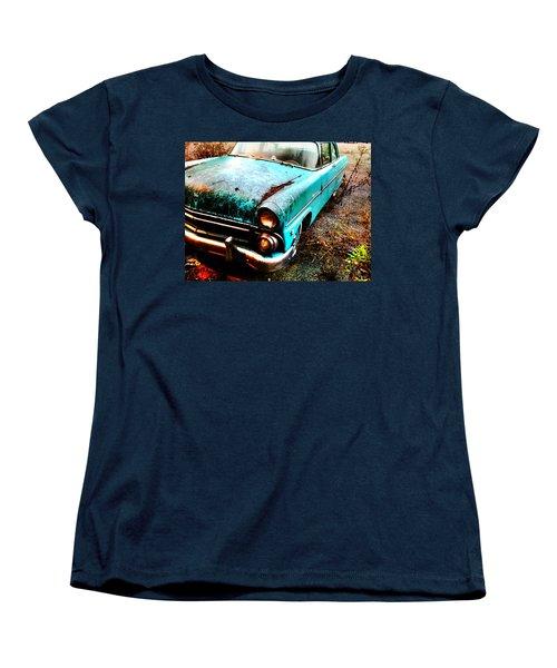 Old Car Women's T-Shirt (Standard Cut) by Janice Spivey