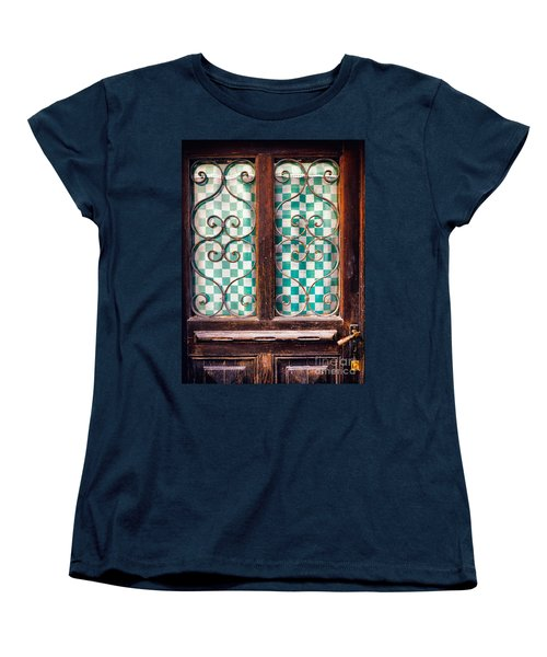Women's T-Shirt (Standard Cut) featuring the photograph Old Door by Silvia Ganora
