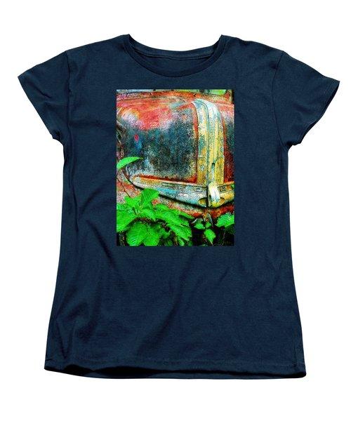 Old Ford #1 Women's T-Shirt (Standard Cut) by Sandy MacGowan