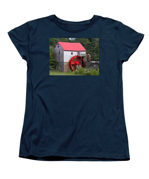 Women's T-Shirt (Standard Cut) featuring the photograph Old Mill Of Guilford by Sandi OReilly