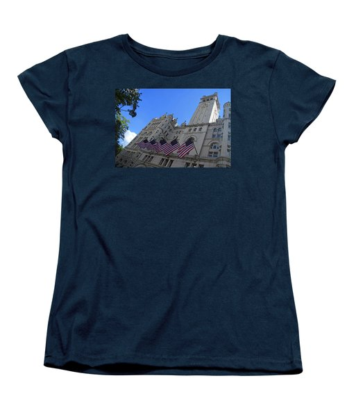 The Old Post Office Or Trump Tower Women's T-Shirt (Standard Cut) by Cora Wandel