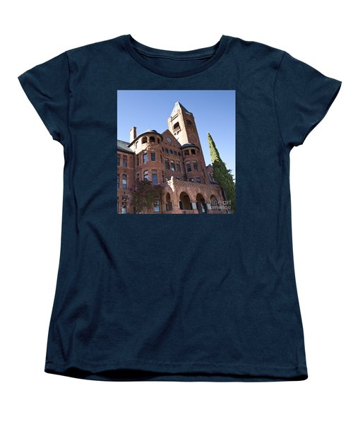 Women's T-Shirt (Standard Cut) featuring the photograph Old Preston Castle by David Millenheft