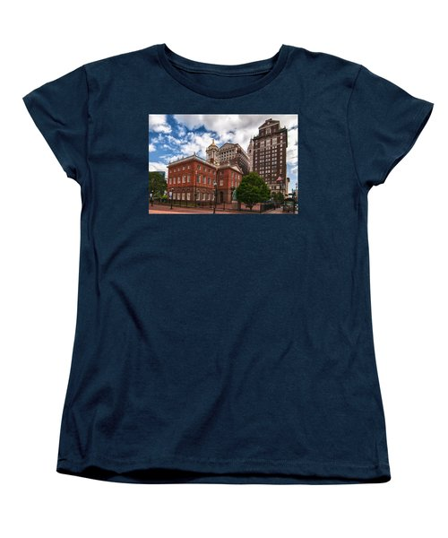 Old State House Women's T-Shirt (Standard Cut) by Guy Whiteley