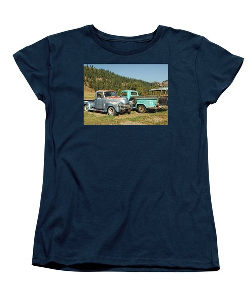 Old Timers Women's T-Shirt (Standard Cut) by Donna Blackhall