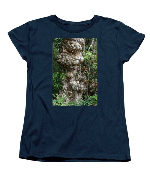 Women's T-Shirt (Standard Cut) featuring the mixed media Old Tree by Rafael Salazar