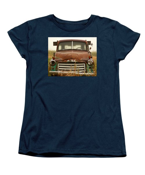Old Truck Women's T-Shirt (Standard Cut) by Steven Reed