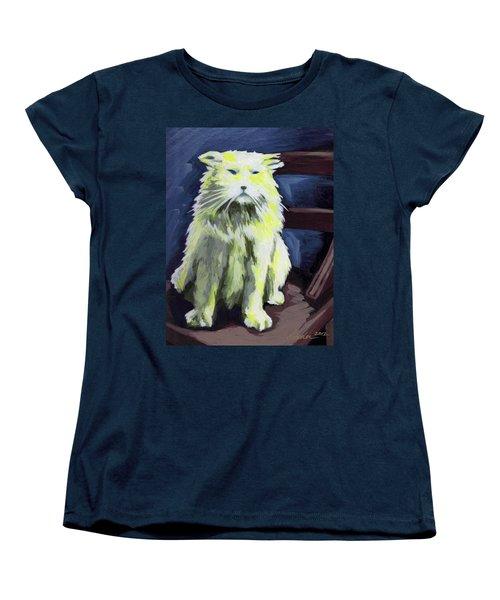 Old World Cat Women's T-Shirt (Standard Cut)