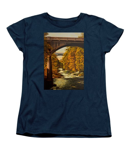 Olympia Women's T-Shirt (Standard Cut) by Thu Nguyen