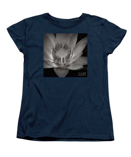 Om Mani Padme Hum Hail To The Jewel In The Lotus Women's T-Shirt (Standard Cut) by Sharon Mau