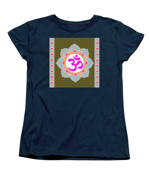 Women's T-Shirt (Standard Cut) featuring the photograph Om Mantra Ommantra 3 by Navin Joshi