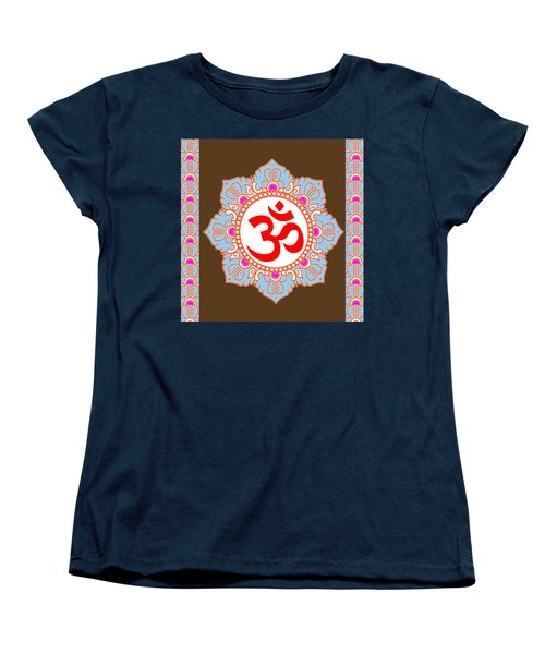 Women's T-Shirt (Standard Cut) featuring the photograph Om Mantra Ommantra by Navin Joshi