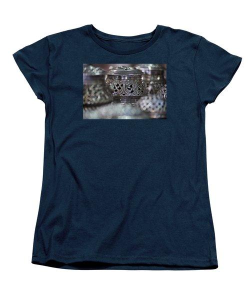 Omani Silver Women's T-Shirt (Standard Cut) by Debi Demetrion