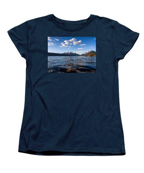 On The Lake Women's T-Shirt (Standard Cut) by Aaron Aldrich