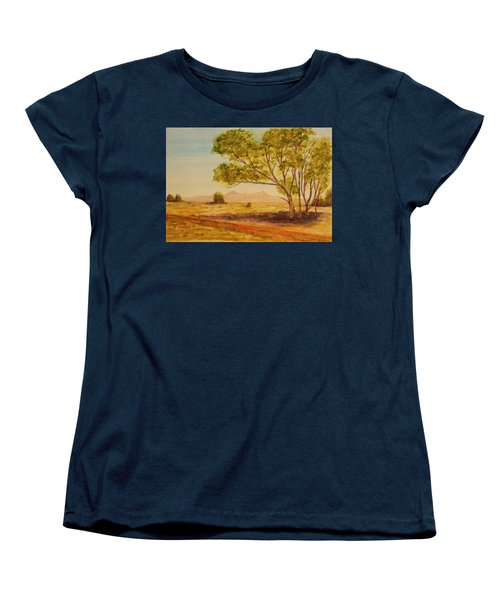 On The Road To Broken Hill Nsw Australia Women's T-Shirt (Standard Cut) by Tim Mullaney