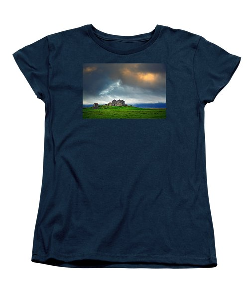 On The Road To Hofn Women's T-Shirt (Standard Cut) by Ian Good