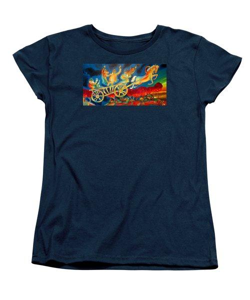 On The Road To Rebbe Women's T-Shirt (Standard Cut) by Leon Zernitsky