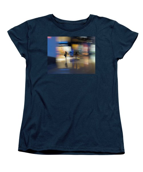 Women's T-Shirt (Standard Cut) featuring the photograph On The Threshold by Alex Lapidus