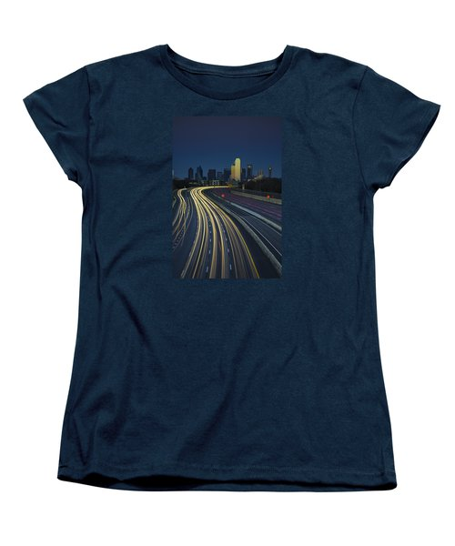 Oncoming Traffic Women's T-Shirt (Standard Cut) by Rick Berk