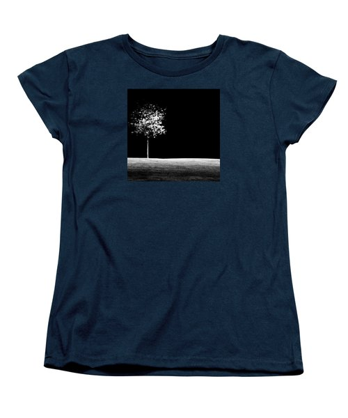 Women's T-Shirt (Standard Cut) featuring the photograph One Tree Hill by Darryl Dalton