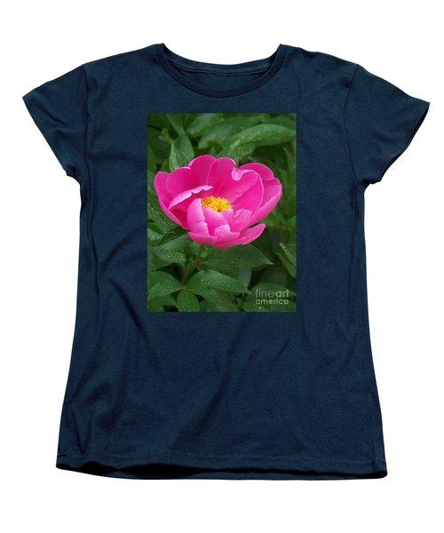 Women's T-Shirt (Standard Cut) featuring the photograph Peony  by Eunice Miller