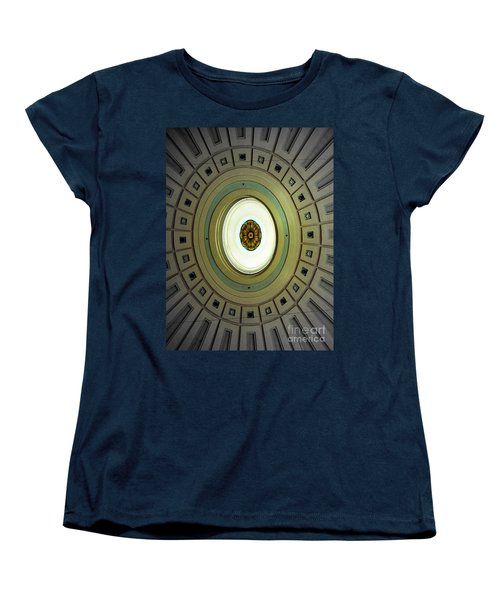 Optical Illusion  Women's T-Shirt (Standard Cut) by Kevin Fortier