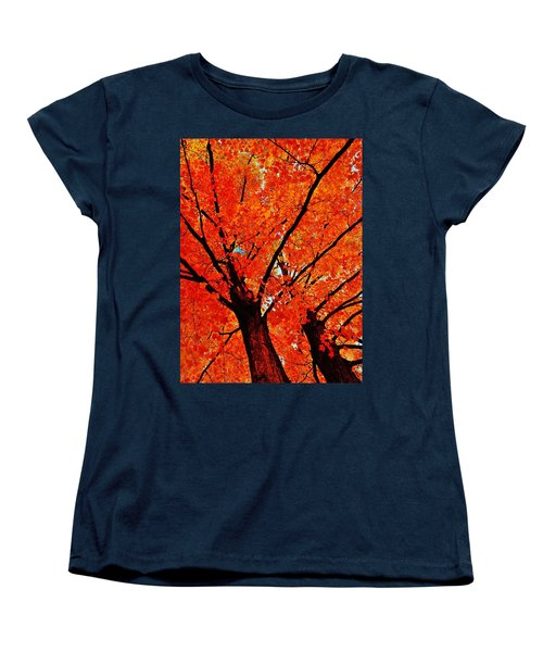 Orange...the New Green Women's T-Shirt (Standard Cut) by Daniel Thompson