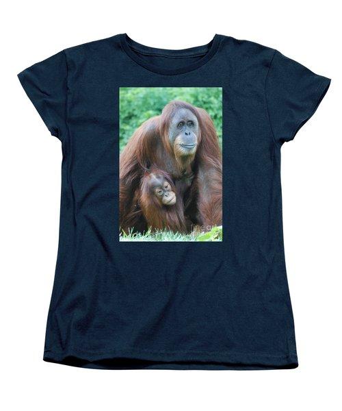Orangutan Women's T-Shirt (Standard Cut) by DejaVu Designs
