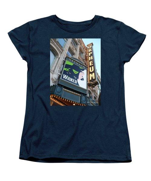 Orpheum Sign Women's T-Shirt (Standard Cut)