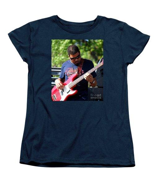 Oteil Burbridge Women's T-Shirt (Standard Cut) by Angela Murray