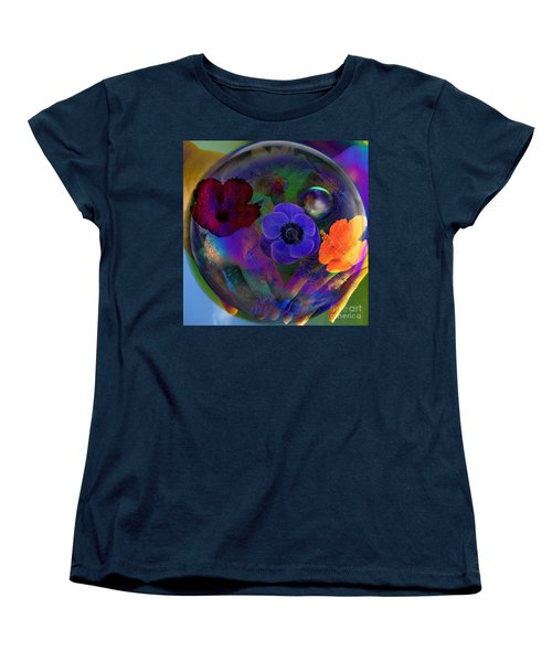 Our Nature Of Love Women's T-Shirt (Standard Cut) by Joseph Mosley