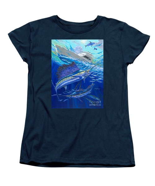 Out Of Sight Women's T-Shirt (Standard Cut) by Carey Chen