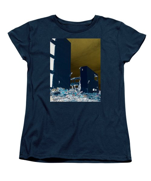 Women's T-Shirt (Standard Cut) featuring the photograph Out With The Old by J Anthony